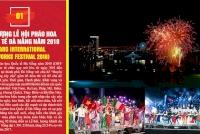 Bình chọn Lễ hội pháo hoa Quốc tế Đà Nẵng tại 10 Sự kiện văn hóa, thể thao và du lịch tiêu biểu 2018